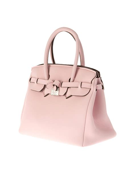 What Is In My Bag by Save My Bag Borsa Icon Lycra Soft Pink 3259 Borsa A Spalla