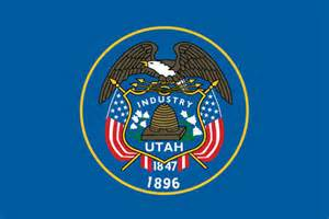 utah state colors stock illustration utah state flag