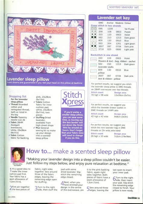 schemi punto croce fiori di lavanda cuscino con fiori di lavanda punto croce 4 magiedifilo