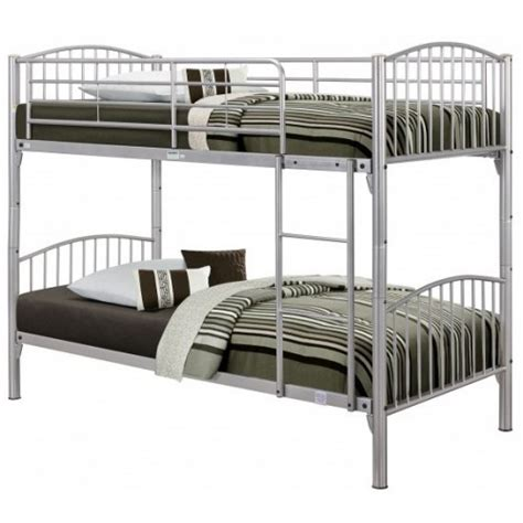 Bunk Beds Metal Frame by Corfu Metal Bunk Bed