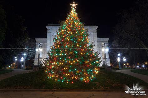 raleigh capitol christmas tree raleighskyline com