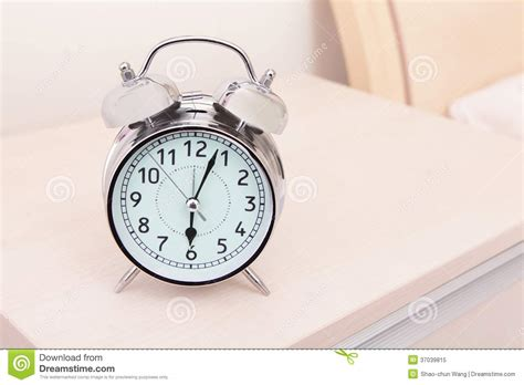 alarm clock bed alarm clock and bed stock image image of copy home