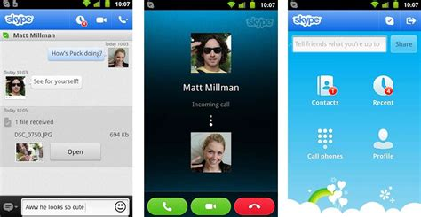android skype دانلود نسخه جدید نرم افزار اسکایپ اندروید skype android 7 46 0 596 دانلود رایگان