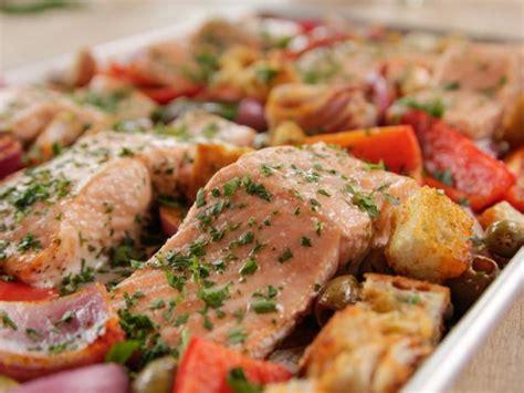 printable salmon recipes spanish baked salmon recipe ree drummond food network