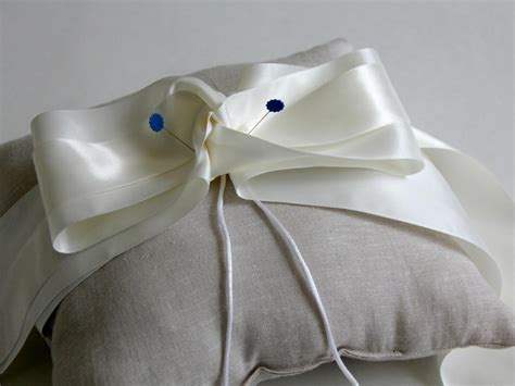 How To Make A Ring Bearer Pillow by How To Sew A Ring Bearer Pillow For A Wedding On