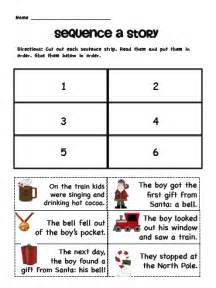 sequencing story events kindergarten worksheets