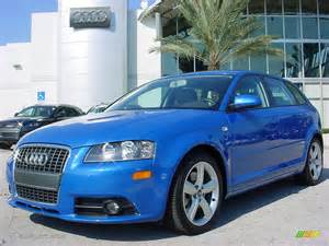 2008 sprint blue pearl effect audi a3 2 0t 706170