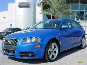 Audi A3 Blue 2008 Sprint Blue Pearl Effect Audi A3 2 0t 706170