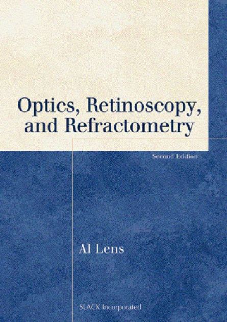 I O N Paperback optics retinoscopy and refractometry edition 2 by al