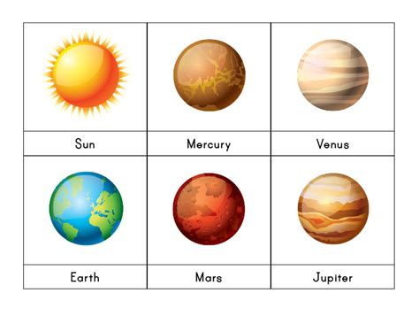 solar system fact cards template solar system 3 part cards gift of curiosity