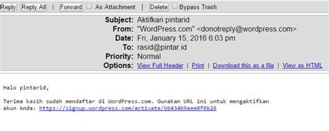 membuat wordpress bahasa indonesia cara membuat wordpress indonesia emerer com