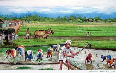 farmers paintings google zoeken art village indian