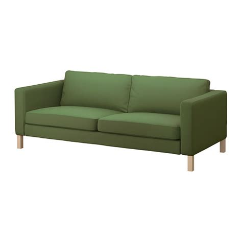 karlstad ottoman fabric three seater sofas ikea