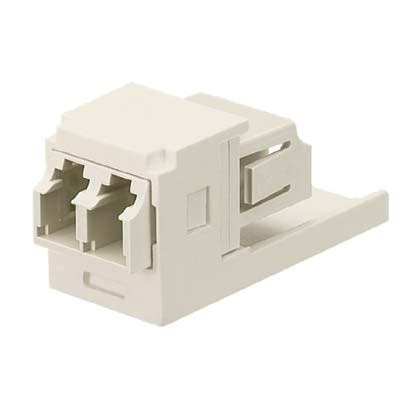 G Ci White Ceramic panduit mini sm lc sr sr blue duplex adapter