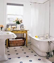 take your new bathroom and turn back time to vintage