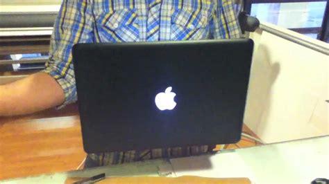 Macbook Black Second macbook pro wrapped with black matte vinyl second skin design