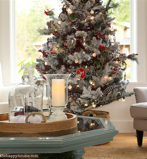 decorating tiny chic tree cabin chic winter woodland tree style the