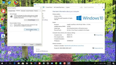 youtube tutorial windows 10 how to change device installation settings in windows 10