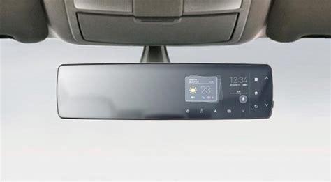 Cermin Pintar cermin pandang belakang kereta pintar oleh panasonic amanz