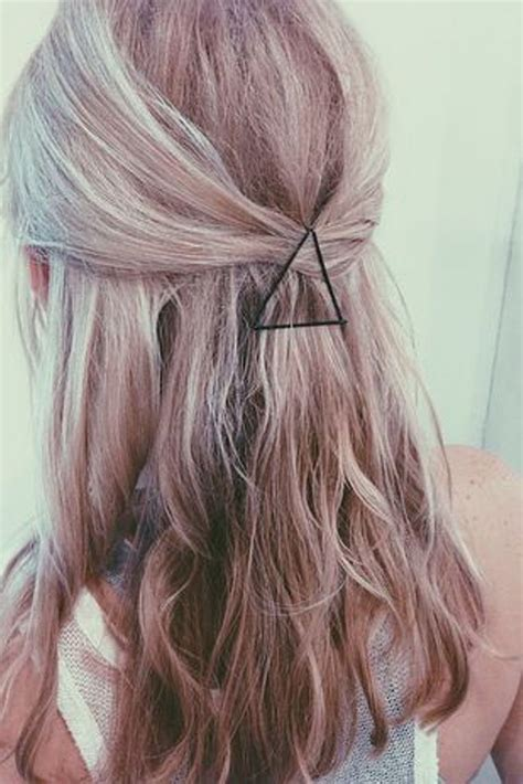 triangle hair triangle bobby pins diane kingsbeck