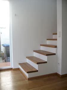 Treppenbelag Holz Betontreppe by Der Richtige Treppenbelag F 252 R Treppen Aus Holz Und Beton