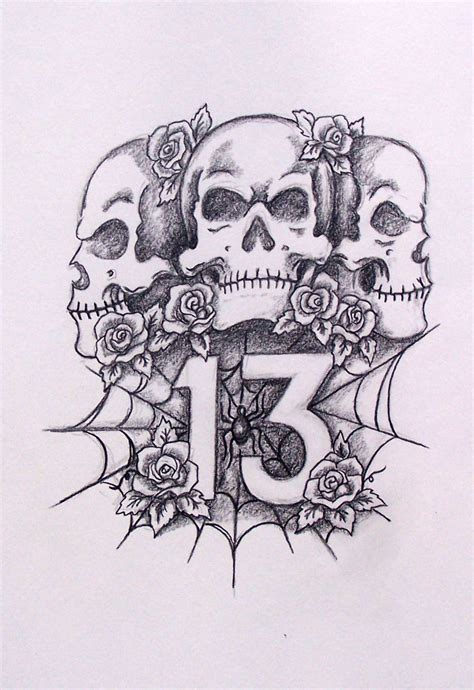 awesome drawings of roses and skulls www pixshark com