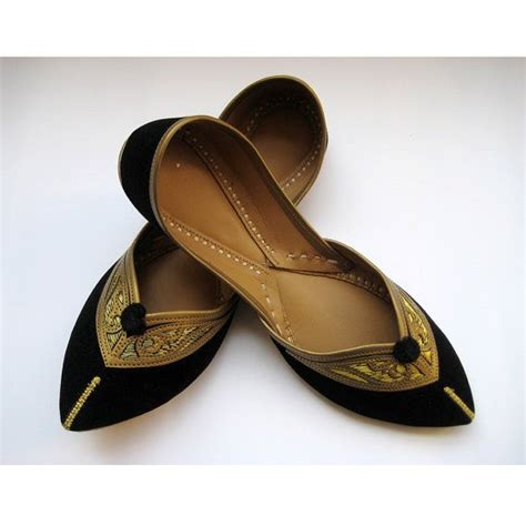 indian slippers black flats ethnic shoes shoes gold shoes handmade
