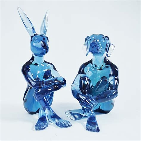 Sculpture Kettlebell 5kg Blue Limited lolly dogman and rabbitgirl range of colours available gillie and marc