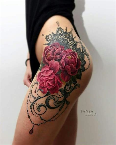 best 25 rose hip tattoos ideas on pinterest hip tattoos