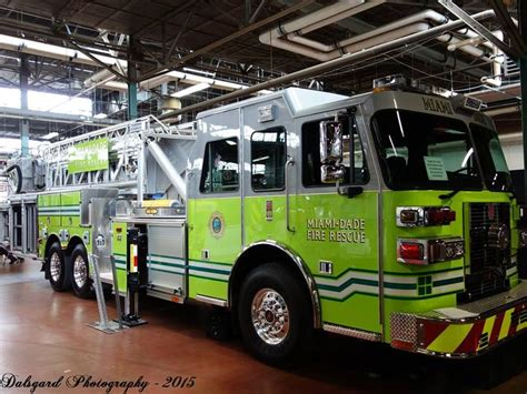 Number Search Miami Dade Miami Dade Truck Brand New Sutphen Sph 100 Tower Ladder Miami Dade Dept