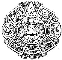 aztec calendar coloring page books worth reading gnostic slide shows samael gnosis