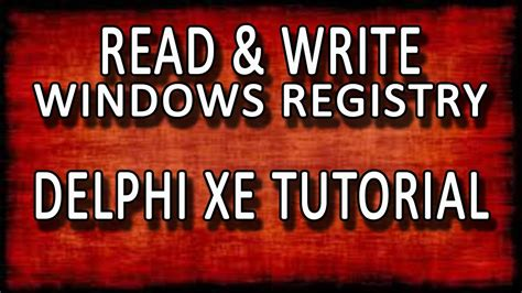 tutorial delphi xe7 delphi xe7 how to read and write something to the