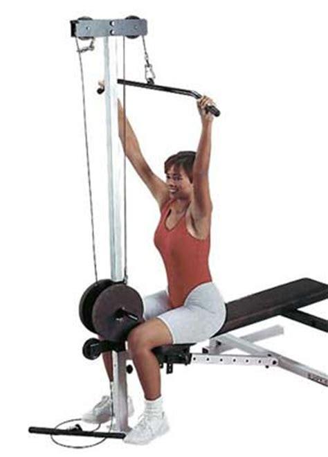 Banc De Musculation Bodysolid by Banc De Musculation Bodysolid Option Poulie Haute Et Basse