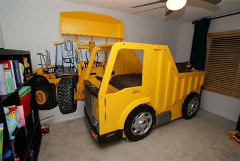 dump truck toddler bed build a bed