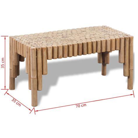Bamboo Coffee Table Vidaxl Co Uk Bamboo Coffee Table