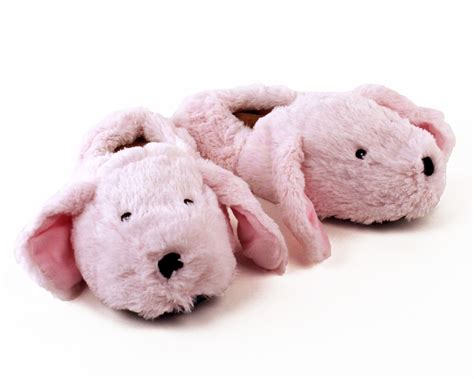 rabbit slippers for adults cozy pink bunny slippers microwaveable slippers