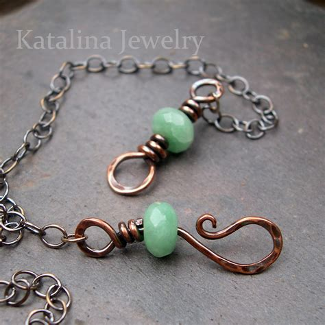 Katalina Jewelry Hook And Eye Clasp Basic Wire Working