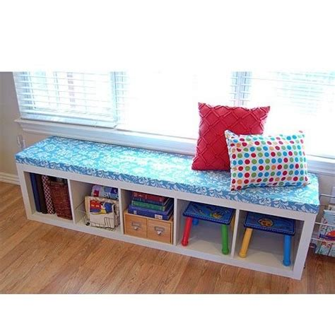 ikea expedit bookcase bench ikea expedit shelving units and storage benches on pinterest