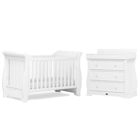Boori Sleigh Cot Bed Boori Sleigh Cot Bed Dresser Cots From Pramcentre Uk