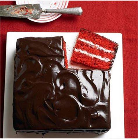 love this chocolate and vanilla red velvet cake