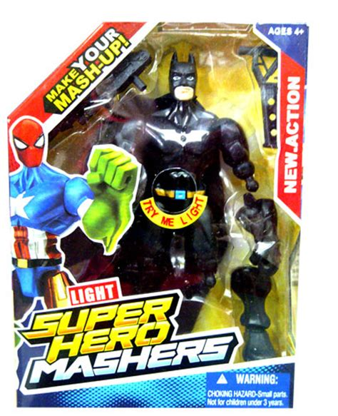 Gendongan Motif Superman Ironman 9 jual mainan mashers superman ironman batman toko mainan rafa