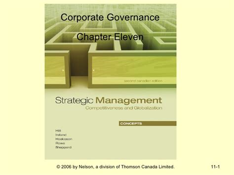 Corporate Governance Mba Notes Pdf by Chapter 11