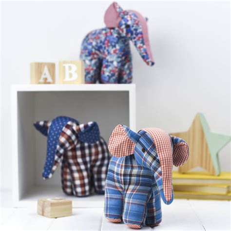 Patchwork Toys - patchwork eli soft by albetta notonthehighstreet