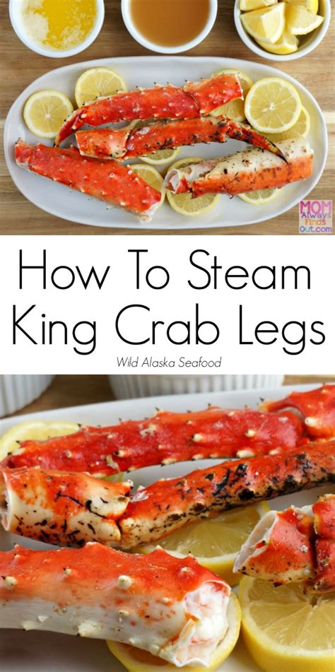 how to steam wild alaska king crab legs easy