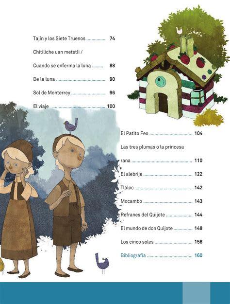 espaol lecturas cuarto grado 2015 2016 libros sep espa 241 ol libro de lectura cuarto grado 2016 2017 online