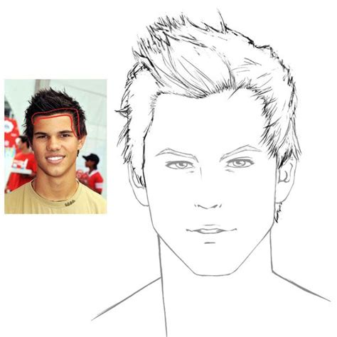 hairstyles drawing male 48 best hair images on pinterest draw hair drawings and