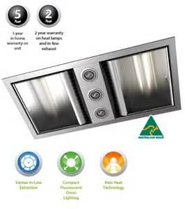 Ixl Bathroom Heater Lights Ixl Neo Bathroom Fan Heater With Dual Light Fan Wall Heaters