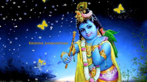 wallpaper desktop krishna krishna janmashtami hd wallpaper 1366 215 768 lord krishna