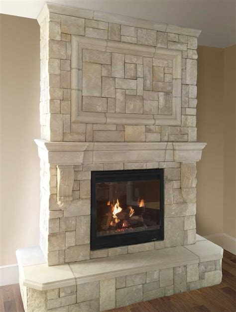 cast fireplace mantels integrate with veneer