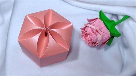 Origami Wrapping Paper Gift Box - amazing diy gift box no templates ideas for s